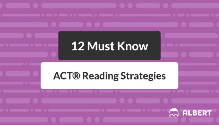 12 must know act reading strategies