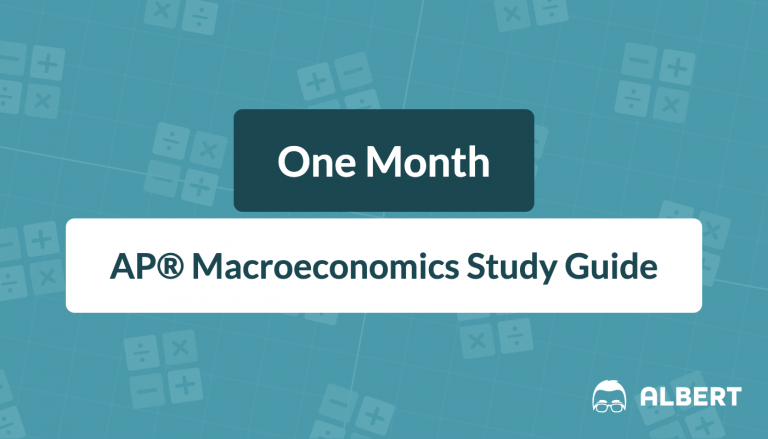 One Month AP® Macroeconomics Study Guide