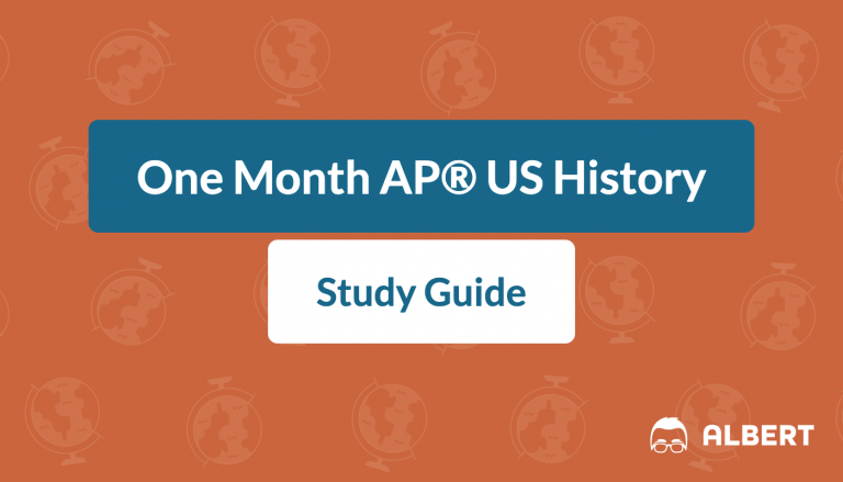 One Month AP® US History Study Guide