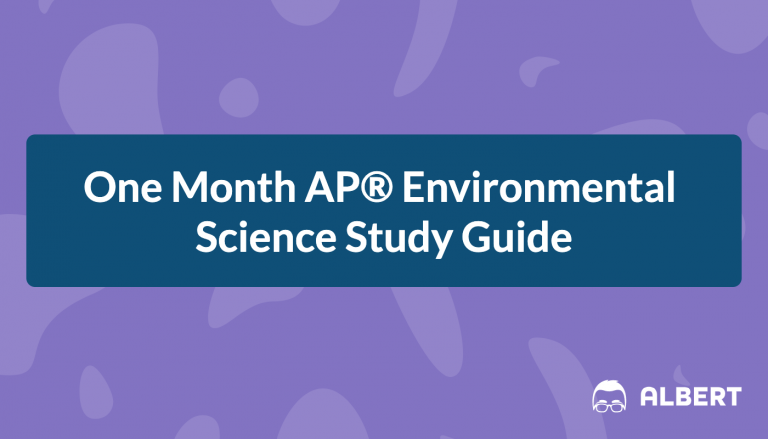 One Month AP® Environmental Science Study Guide
