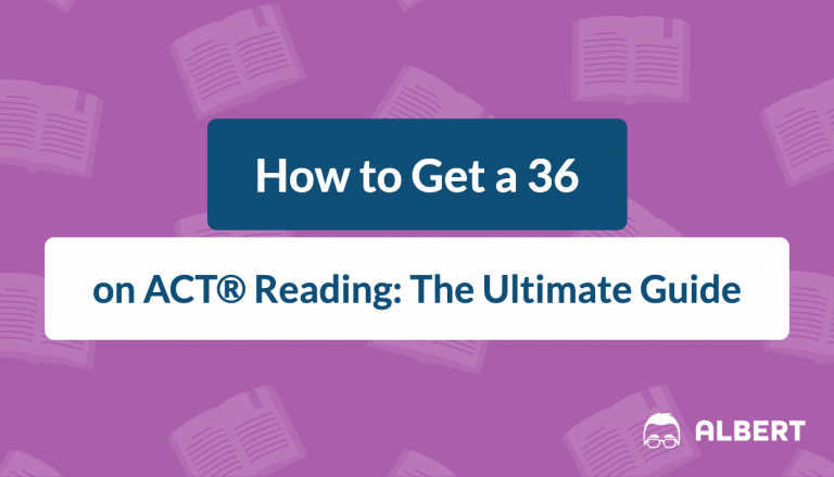 how to get a 36 on ACT reading