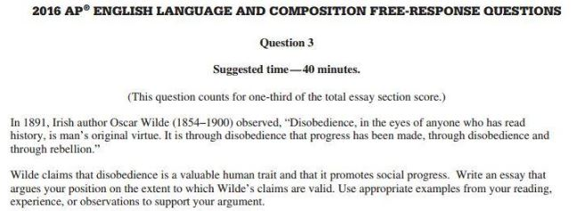 how to get a  on argument frq in ap english language  ap english