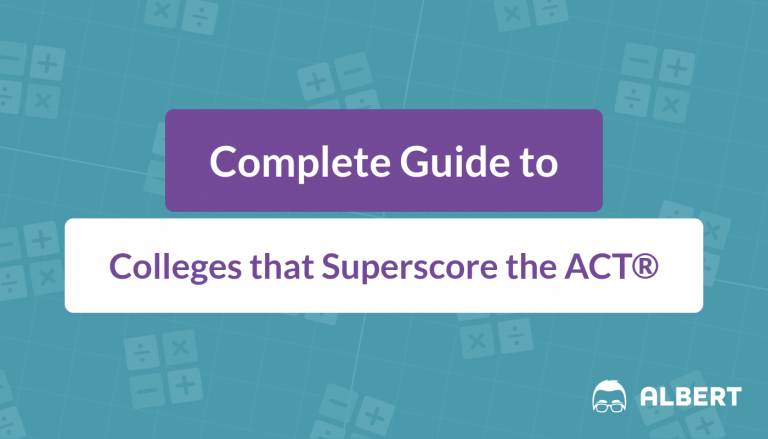 Complete Guide to Colleges that Superscore the ACT