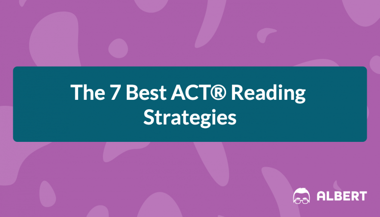 7 best act reading strategies