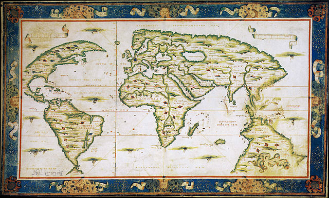 Nicolas Desliens Map (1566)