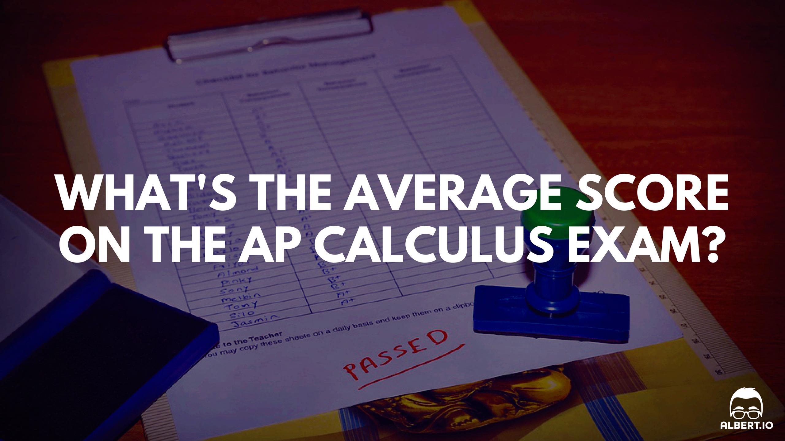 Average AP Calculus Score