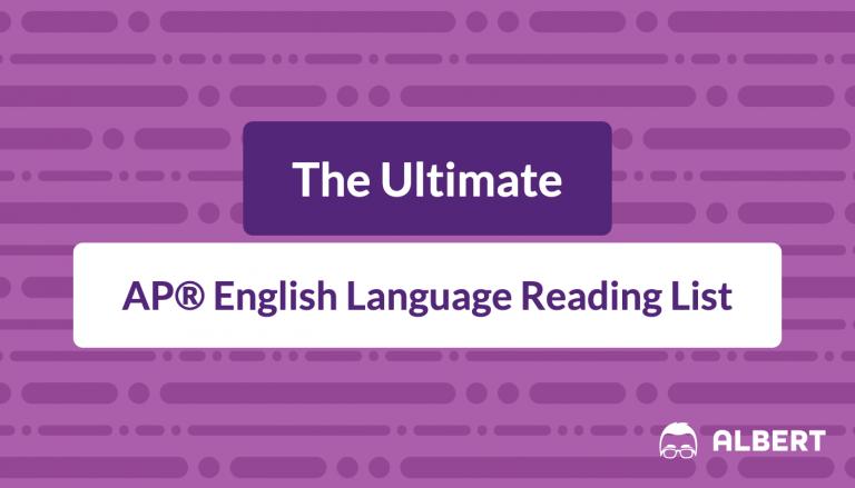 the_ultimate AP® English language reading list