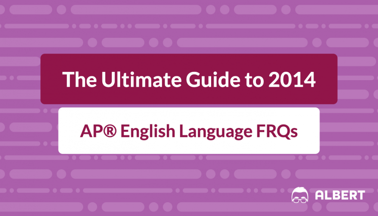 the_ultimate_guide_to_2014 AP® English language frqs