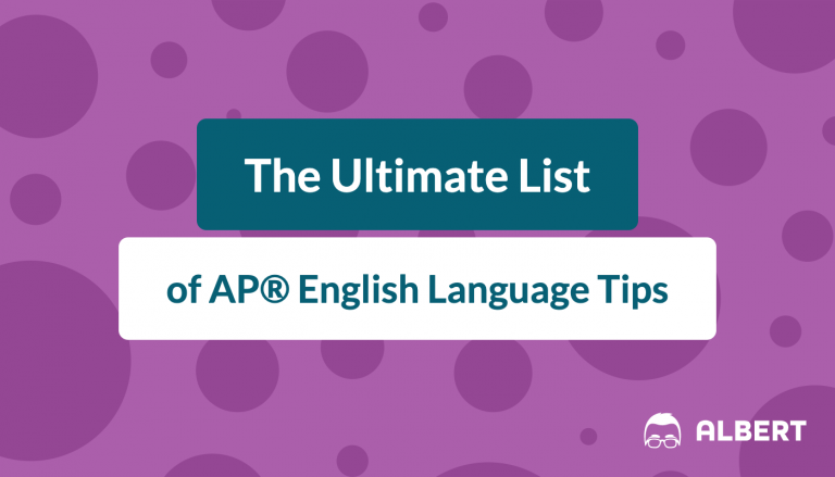 the_ultimate_list of AP® English language tips