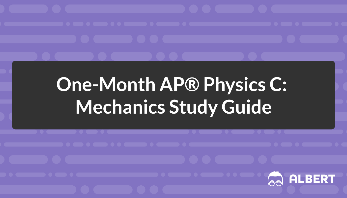 one month ap physics c mechanics study guide albert io rh albert io Hi Res A&P Mechanic Aircraft Mechanic Tool Box