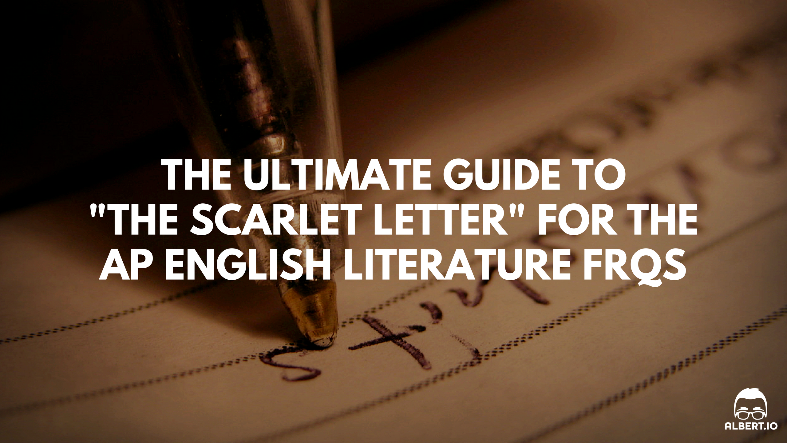 the ultimate guide to the scarlet letter