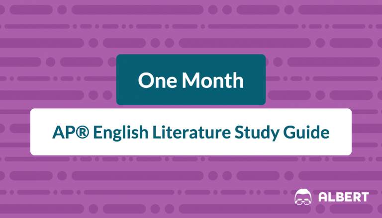 one_month AP® English literature study guide