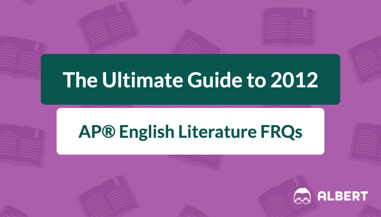 the_ultimate_guide_to_2012 AP® English literature frqs