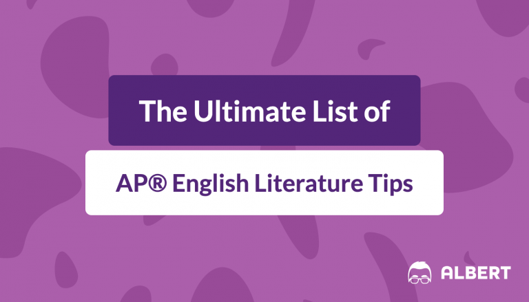 the_ultimate_list_of AP® English literature tips