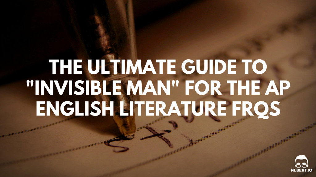 the ultimate guide to invisible man for the ap english  invisible man ap english lit essay