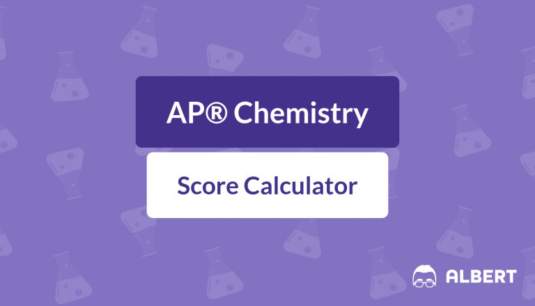 AP® Chemistry Score Calculator