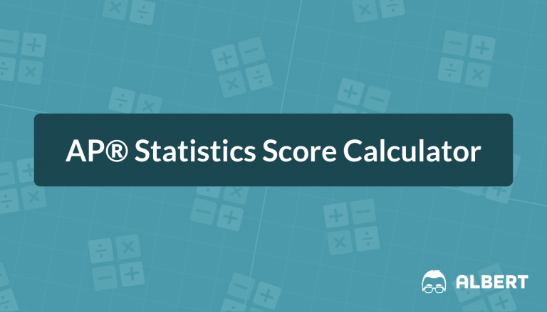 AP® Statistics Score Calculator
