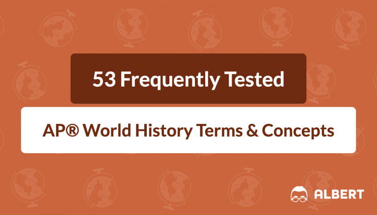 53 Frequently Tested AP® World History Terms & Concepts