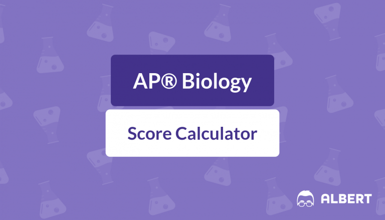 AP® Biology Score Calculator
