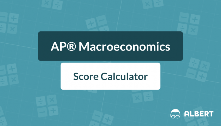 AP® Macroeconomics Score Calculator