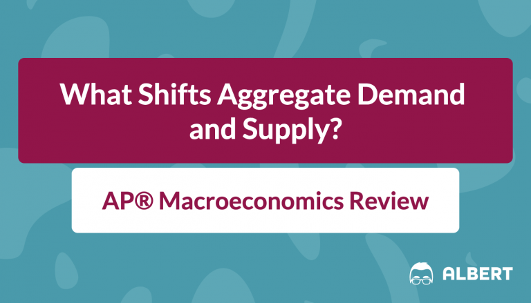 AP® Macroeconomics - What Shifts Aggregate Demand and Supply?
