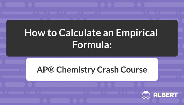 How to Calculate an Empirical Formula - AP® Chemistry Crash Course