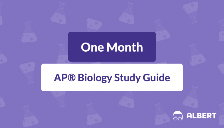 One Month AP® Biology Study Guide