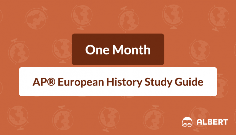 One Month AP® European History Study Guide