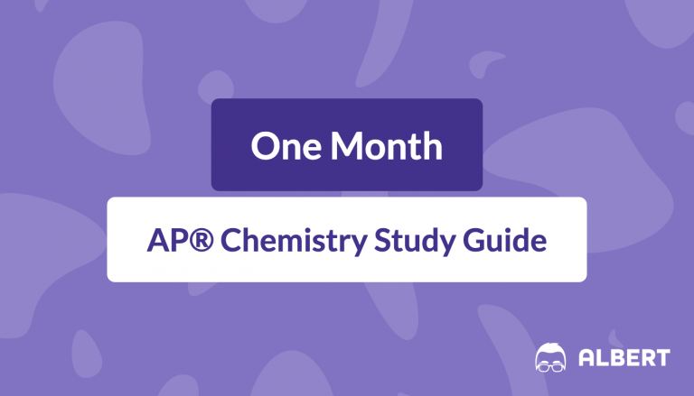 One Month AP® Chemistry Study Guide