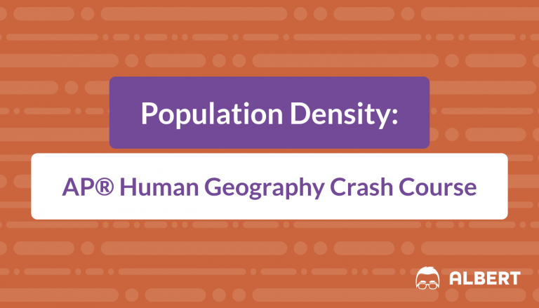 Population Density - AP® Human Geography Crash Course