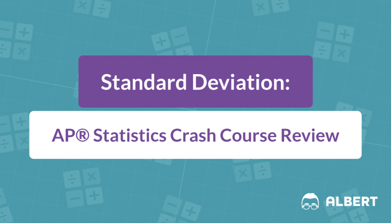 Standard Deviation - AP® Statistics Crash Course Review