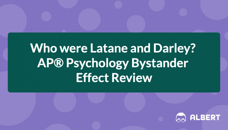 Who were Latane and Darley? AP® Psychology Bystander Effect