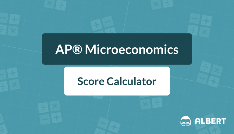AP® Microeconomics Score Calculator