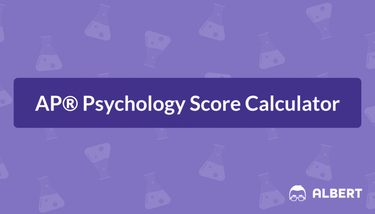 AP® Psychology Score Calculator