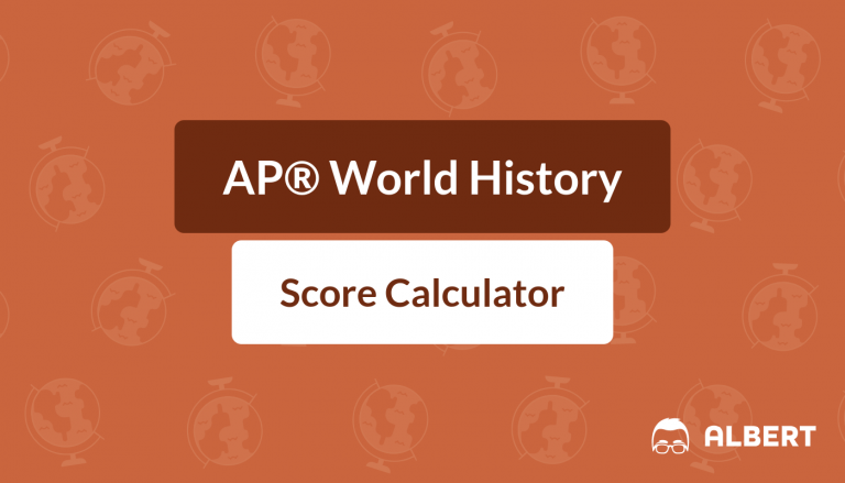 AP® World History Score Calculator