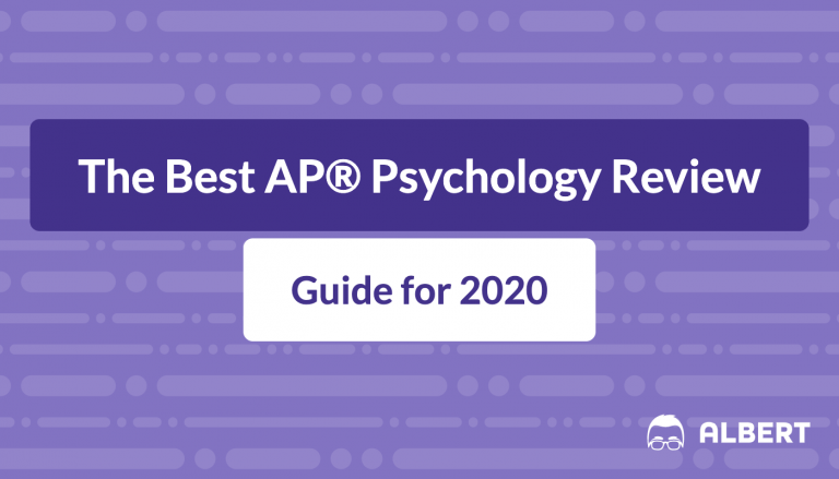 The Best AP® Psychology Review Guide 2020