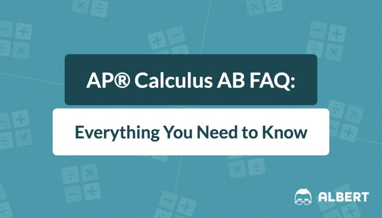 AP® Calculus ab faq