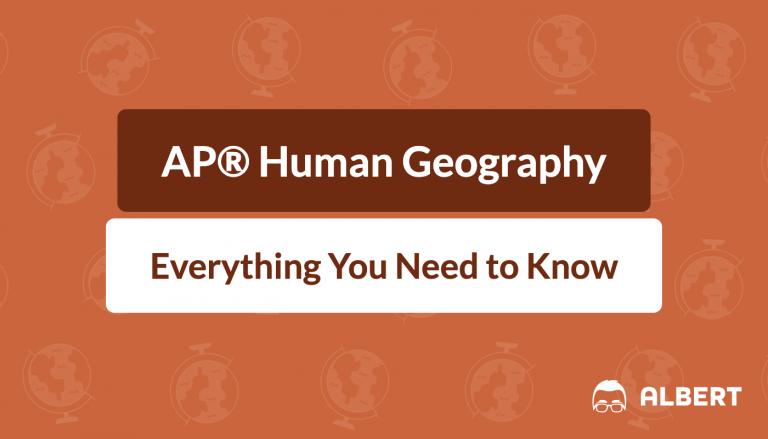 AP® Human geography faq