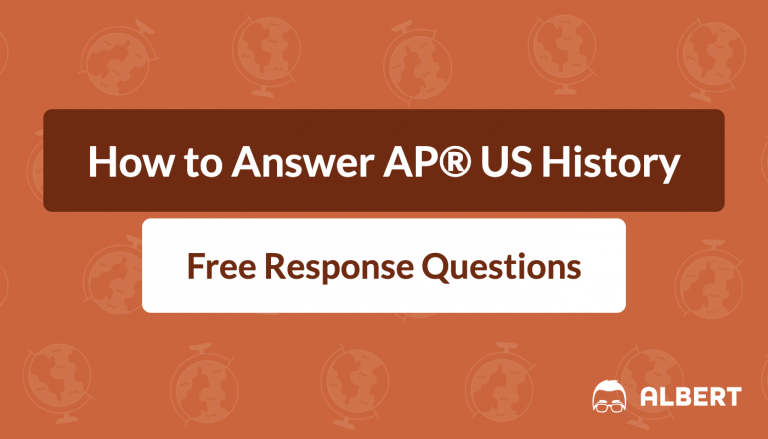 how to answer AP® US History free response questions