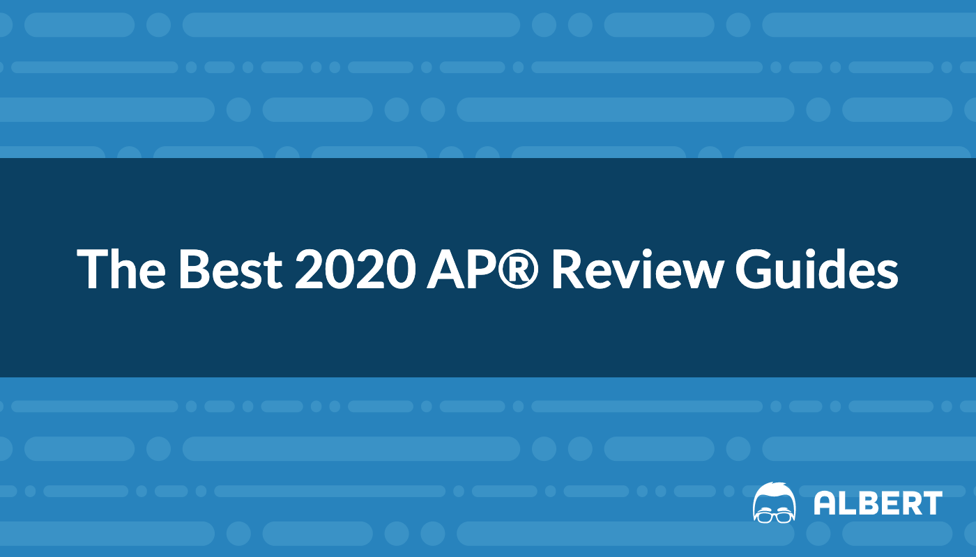 best 2020 ap review guides