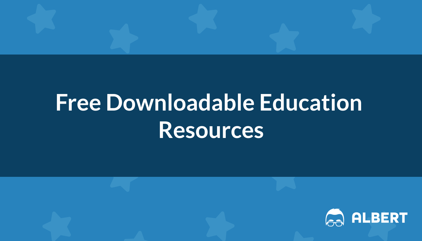 Free Downloadable Education Resources