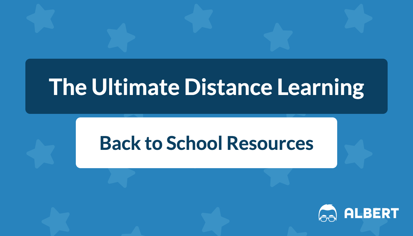 back to school resources for distance learning